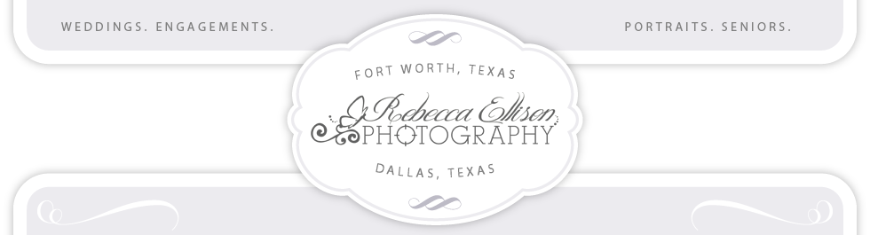 Wedding and portrait Photographer | Dallas/Fort Worth Texas and destination | Rebecca Ellison Photography logo
